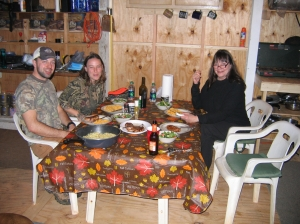 Our family at the deer camp.