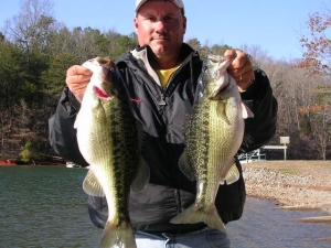 Some nice spotted bass from Lake Lanier.