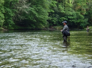 Water temps should still provide good trout fishing in most locations.
