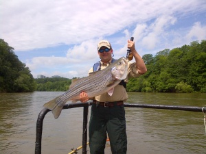 Big fish usually want big baits, so leave the lightweight rods and lures at home.