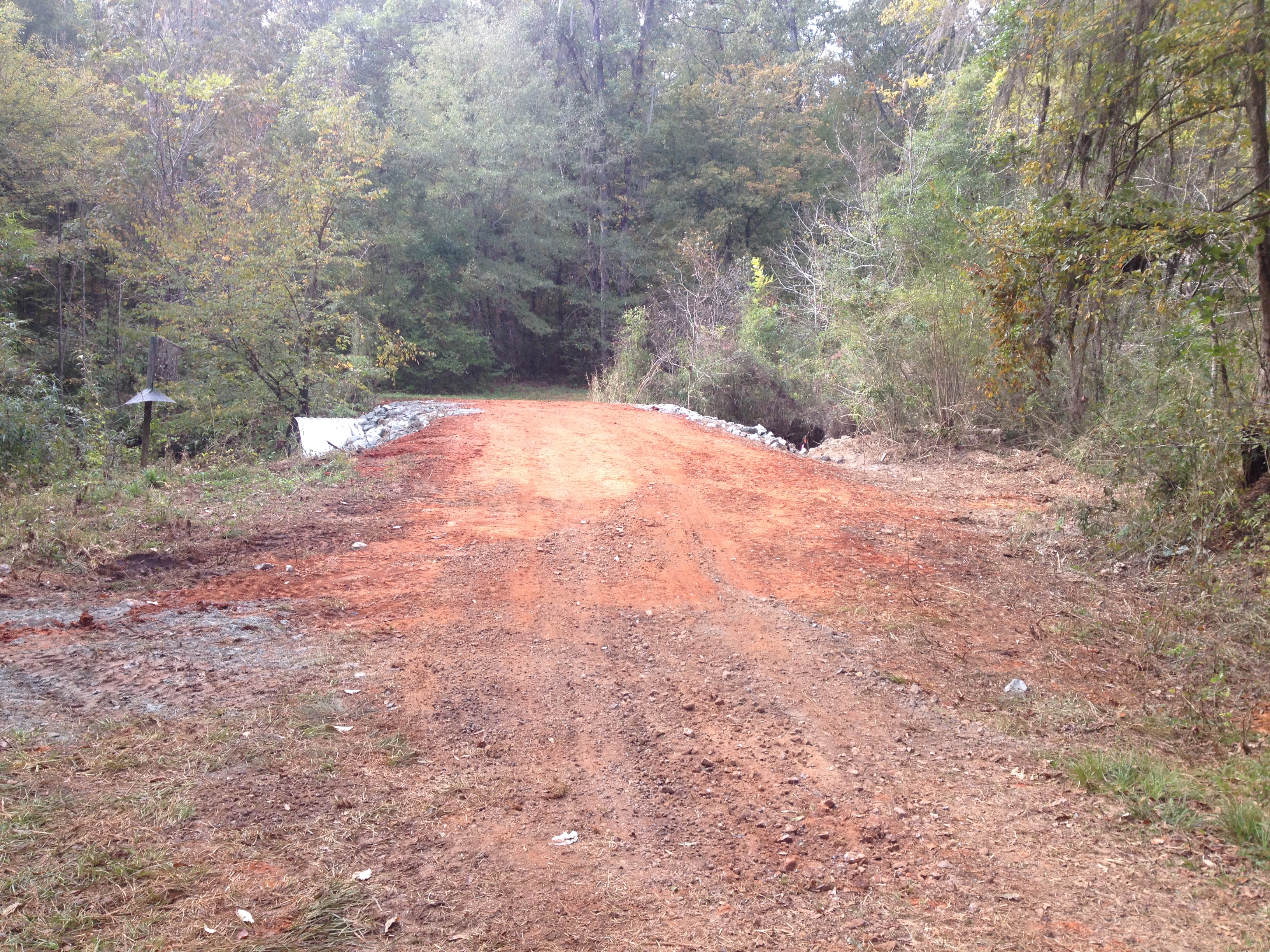 Improvements to oaky woods wma georgia wildlife for Ga dnr fishing license