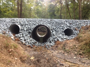 Loop Crossing culverts