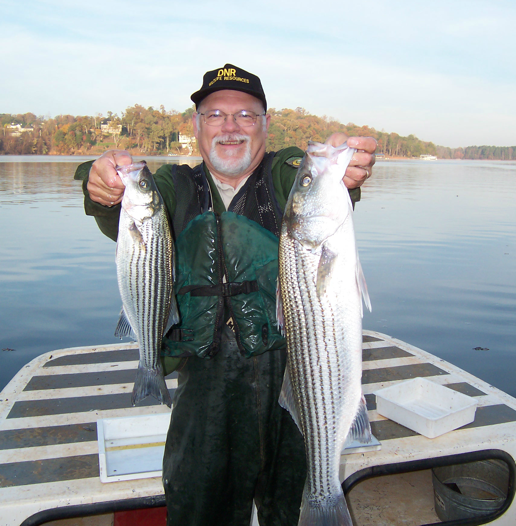November 2014 georgia wildlife resources division for Lake lanier fishing spots