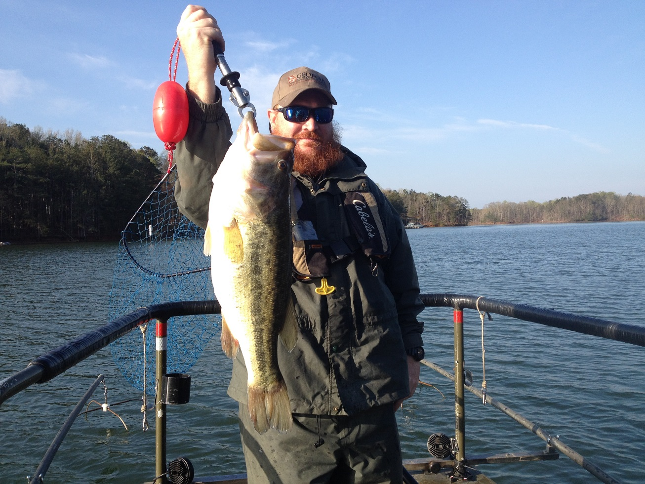 Georgia fishing report april 3 2015 for West point fishing report