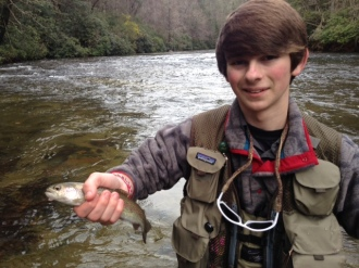 trout fishing Chattooga DH Nov 2015 Trey1