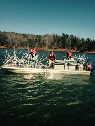 Georgia fishing report february 16 2016 georgia for Carters lake fishing report