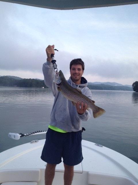 trout bnt 6lb Lake Burton July 2016 CCote