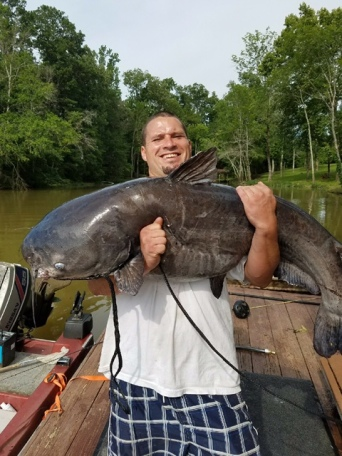 catfish 59.6 lb Blue Cat Brushy Branch 6_25_17