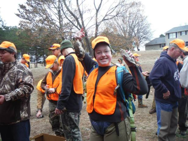 excited quail hunt and learn part