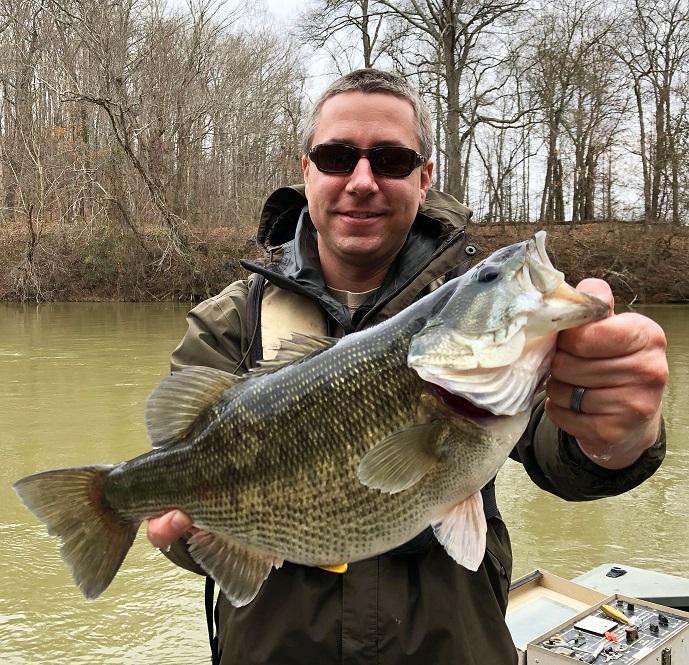 Georgia fishing report february 9 2018 for Bass fishing in georgia