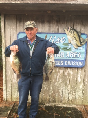 Robert Neal caught this 2 lb, 10 oz monster at Paradise PFA
