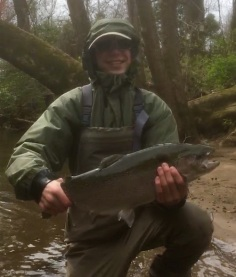 trout rbt 23in Mikey at NB April 2018small