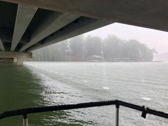Nottely rain Damer under bridge 6-27-18small